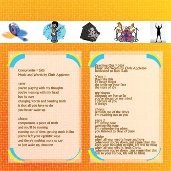 Grade One EP CD insert