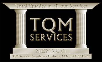 The TQM Services Company Logo